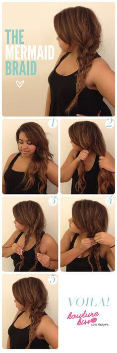 The Mermaid Braid - Kouturekiss - Your One Stop Everything Beauty Spot - kouturekiss.com