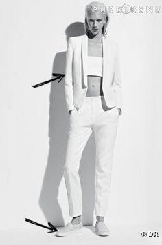 Comment porter le total look blanc ce Printemps-Eté 2013 : 20 inspirations
