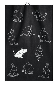 MOOMIN organic cotton tea towel - Stu has a thing about Moomins. Tove Jansson, Home Textile, Linen Fabric, Tea Towels, Just In Case, Scandinavian, Organic Cotton, Textiles, Gifts