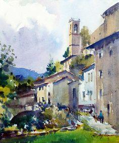 Resultado de imagen de david taylor watercolor