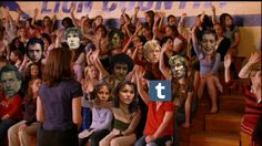 Raise your hand if you've been personally victimized by Victor Hugo (Les Mis + Mean Girls)