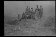 Eingeborenen Familie