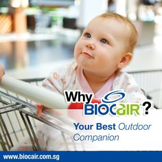 You might not know it, but many of the surfaces we come into contact with outdoors are contaminated with germs. Use BioCair Pocket Spray to disinfect shopping cart handles, toilet seat covers and other external surfaces for peace of mind.