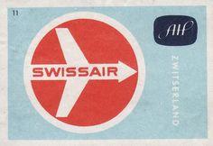 Swissair / Zwitserland / HAL Matchbox Series