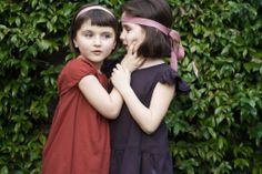 Joie de vivre SS2014 Collection caffelatteacolazione HANDMADE IN ITALY kids dresses