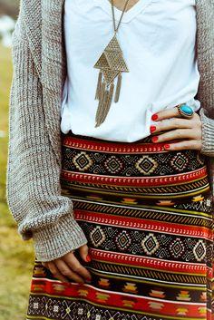 Los accesorios de diseño tribal están in, combínalos con #ActitudXtrem