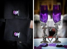 """Louise & Adam's gothic fairytale wedding - my favorite part about this wedding is that they had the MOH play """"In Dreams"""" from the Fellowship of the Ring on the flute."""