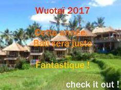 stage de Wuotaï 2017 Bali, Amazing