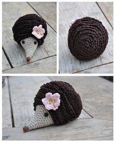 Hedgehogs Free Crochet Pattern