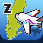 Zcooly Landa - Styr flygplan till rätt städer och öva geografi