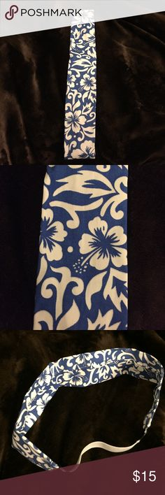 Headband wrap! Hibiscus flowers! Headband wrap. Home made. Accessories Hair Accessories