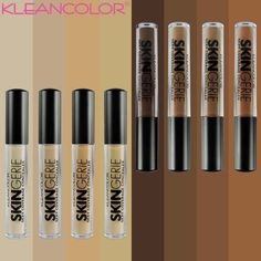 What is sexy coverage?  Coverage that is discreet yet makes you feel confidant without completely covering up your natural beauty.  From Porcelain to Espresso SKINgerie Sexy Coverage Concealers have a color to match you and the creamy texture to enhance your natural beauty!  What's your shade?? #kleancolor #skingerie #concealer #skingeriesexycoverageconcealer #sexycoverage #makeup #cosmetics #beauty