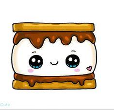 Chocolate drawing kawaii best ideas - Rebel Without Kawaii Girl Drawings, Cute Little Drawings, Cute Food Drawings, Cute Cartoon Drawings, Cute Animal Drawings, Disney Drawings, Adorable Drawings, Food Drawing Easy, Cute Animals To Draw