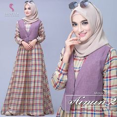 Best Women Outfit in 2019 Dress Muslim Modern, Muslim Dress, Abaya Fashion, Muslim Fashion, Fashion Dresses, Hijab Simple, Girls Dresses Sewing, Modele Hijab, Cool Outfits