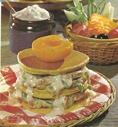 Ham-Pancakes Shortcake (Family Circle Illustrated Library of Cooking, Volume 11, 1972)