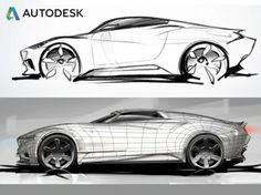 Autodesk releases automotive design showreel