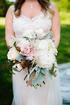 Soft & oh so sweet bridal bouquet #cedarwoodweddings 05.07.17 :: Lexie + Dan   Cedarwood Weddings