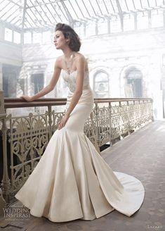 spanish flair wedding dress...