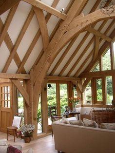 Examples of Trusses | Carpenter Oak