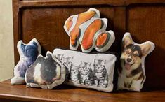 Show the love for your four-legged friends by creating a fun throw pillow using Mod Podge Photo Transfer!