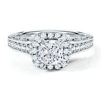 Artiste™ by Scott Kay 1/2 ct. tw. Diamond Semi-Mount Engagement Ring in 14K Gold | www.goldcasters.com