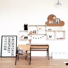 Monochrome Scandinavian Kids Room Tour - CK