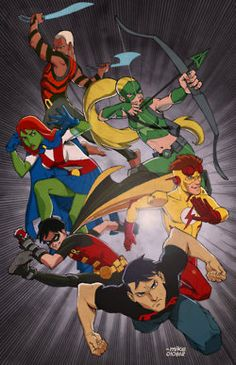 Young Justice Springing Into Action