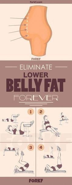 Belly Fat Workout 4 Powerful Exercises To Eliminate Lower Belly Fat Forever Do T. - Belly Fat Workout 4 Powerful Exercises To Eliminate Lower Belly Fat Forever Do This One Unusual - Lower Belly Fat, Reduce Belly Fat, Lose Belly, Flat Belly, Flat Tummy, Flat Stomach, Quick Weight Loss Tips, How To Lose Weight Fast, Weight Gain