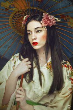 """ Under the rain "" by Lidia Vives Rain Art, Under The Rain, Chinese Culture, Great Photos, Portrait Photography, Saatchi Art, Deviantart, Art Prints, Beautiful"
