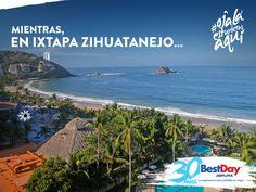 ¿Y tú pensabas que hoy estaría tranquilo el día en el trabajo? #OjalaEstuvierasAqui en #Ixtapa #Zihuatanejo #Mexico con #BestDay