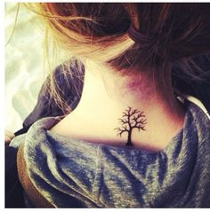 Tree. Neck love so much - This would rep. my love for nature & hiking :)