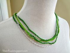 Crochet jewelry is so beautiful and fun to make. As spring warms up all around us and the scarves and hats are getting put away, try m...