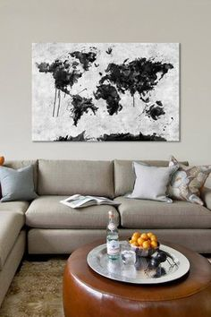 Wild World by Maximilian San Canvas Wall Art