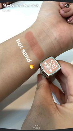 makeup W x nail design - Nail Desing Makeup To Buy, Kiss Makeup, Drugstore Makeup, Makeup Cosmetics, Beauty Makeup, Maybelline Lipstick, Lipstick Swatches, Makeup Swatches, Lipsticks
