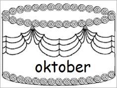Verjaardagskalender (taart): oktober