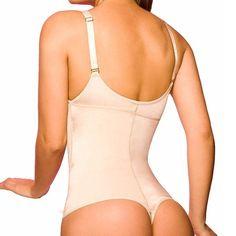 9a6c639ffe177 NINGMI Latex Shaper Bodysuit Women Postpartum Firm Control Thongs Body  Briefer Shapewear Adjustable Stap Waist Trainers