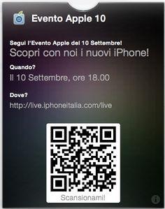 Keynote pass per iPhone italia #passdock #passbook