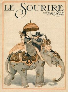Gerda Wegener For Le Sourire 1917...............http://www.pinterest.com/lizzie00/vintage-advertisements/
