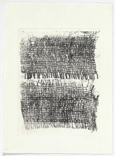 Louise Bourgeois. Weaving, working proof. (2001)