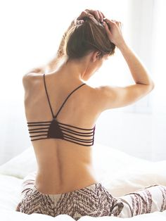 Intimately Strappy Side Bra at Free People Clothing Boutique