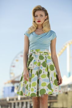 Boardwalk Baby Skirt | Ferris Wheel Collection by Shabby Apple