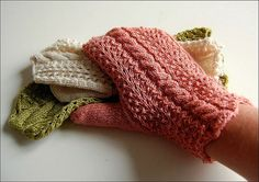 Finished Sunday Mittens by osloann, via Flickr