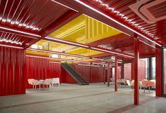 Galería de Pabellón pila de contenedores / People's Architecture - 10