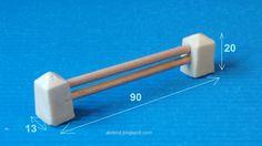 Barrier for slot car track__Valla ara decorar circuitos de scalextric__Tanca per decorar circuits d'slot #scalextric #slot #slotcar #slottrack #circuito #rennbahn  #maqueta #portable #resin #silicone #mold #forsale #valla #accesories #scalemodel #modelismo #modelism #handmade