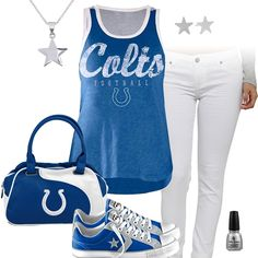 Indianapolis Colts All Star Outfit