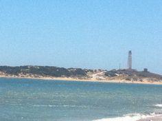 Faro de Trafalgar desde Los Caños de Meca