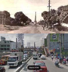 Dito, Noon: McArthur Highway, Caloocan, 1930s x 2010s. #kasaysayan -- The Manila North Road was built beginning 1928, following the route of the old Manila Railroad line from Manila to Dagupan. It was called Highway 3, or Route 3 in early U.S. military records. In 1961, the section between Manila and Pangasinan was renamed after General Douglas MacArthur. Philippines Culture, Manila Philippines, Exotic Beaches, Tropical Beaches, Filipino Culture, Enjoying The Sun, Southeast Asia, Old Photos, Places To Visit