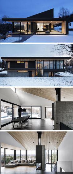 Villa Vingt by Bourgeois   Lechasseur Architects in Lac Beauport 4e92dceebb7dc