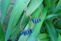 Lapis Lasuli BlueEarrings Bohemian Earrings Jewelry Handmade
