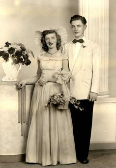 Vintage Wedding photo ring attendants with basket  | eBay